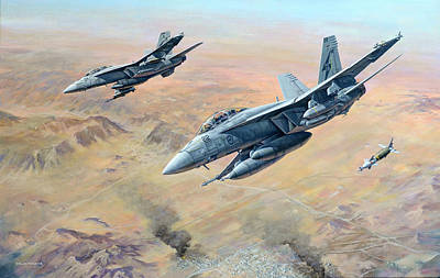 Painting - War On Terror by Colin Parker