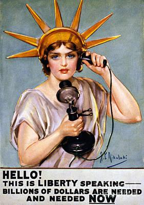 Photograph - War Poster, C1918 by Granger
