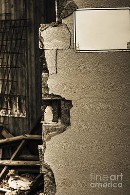 Devastation Photograph - War Torn Wall by Jorgo Photography - Wall Art Gallery