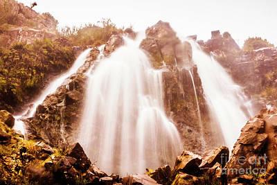 Boulder Wall Art - Photograph - Waratah Wild Waterfall by Jorgo Photography - Wall Art Gallery