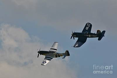 Photograph - Warbirds Of Another Era by Tony Lee