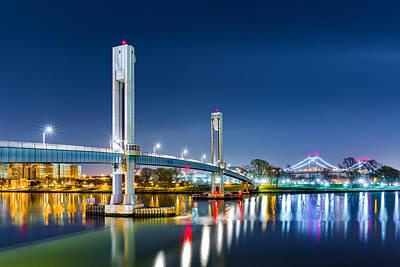 Photograph - Wards Island Bridge by Mihai Andritoiu