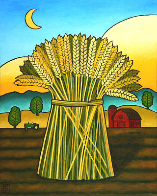 Painting - Wards Wheat by Stacey Neumiller