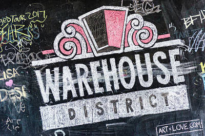 Photograph - Warehouse District by Stewart Helberg