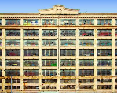Physical Graffiti Photograph - Warehouse Physical Graffiti by S Dolinni