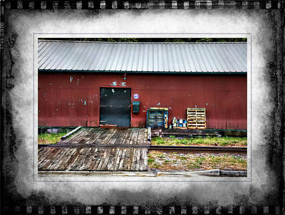 Photograph - Warehouse Seward Alaska by Hugh Smith