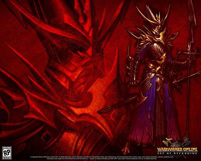 Fractal Digital Art - Warhammer Online Age Of Reckoning by Maye Loeser