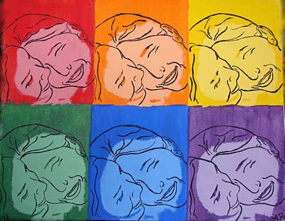 Warhol Inspired Art Print by Ashley Porter