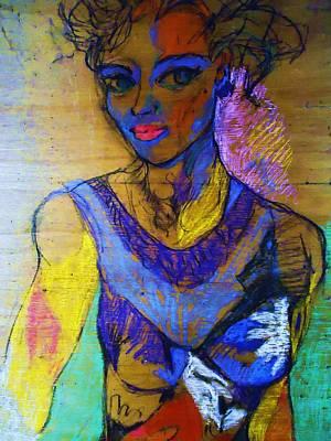 Warhol Simone Art Print