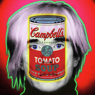 Painting - Warhol Tribute by Gary Grayson