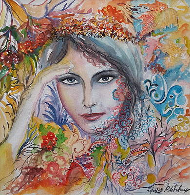 Painting - Warm Autumn by Rita Fetisov
