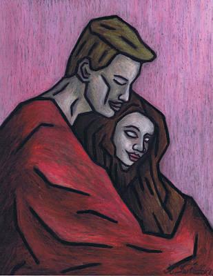 Passionate Painting - Warm Blanket by Kamil Swiatek
