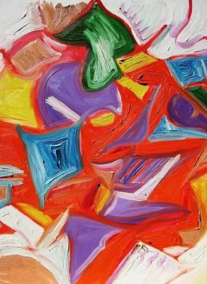 Alfredo Llana Painting - Warm Center by Alfredo Dane Llana
