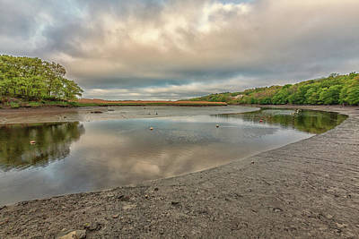 Photograph - Warm Clouds Over Milton Landing by Brian MacLean
