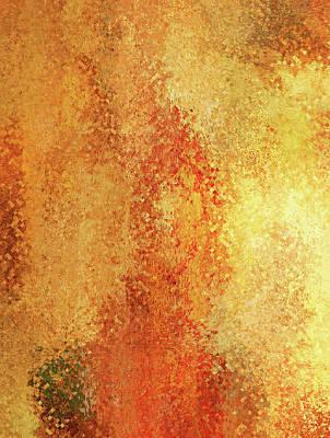 Digital Art - Warm Compassion Abstract by Georgiana Romanovna