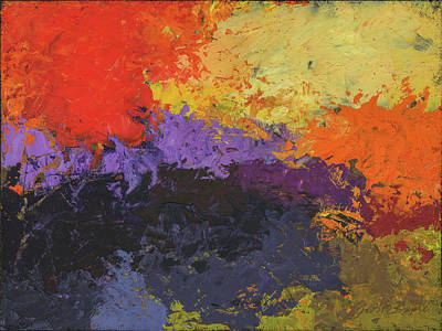 Painting - Warm Conjunction by Judith Barath