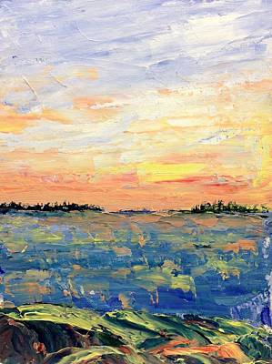 Painting - Warm by Desmond Raymond