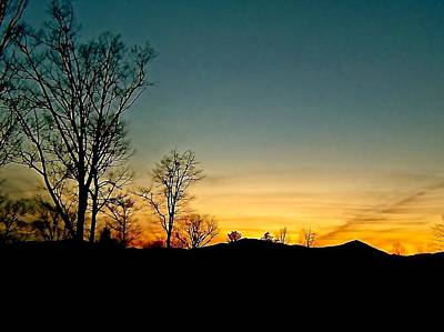 Sunset Photograph - Time To Say Goodbye by Elizabeth Tillar