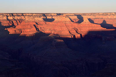 Photograph - Warm Glow In The Grand Canyon by Pierre Leclerc Photography