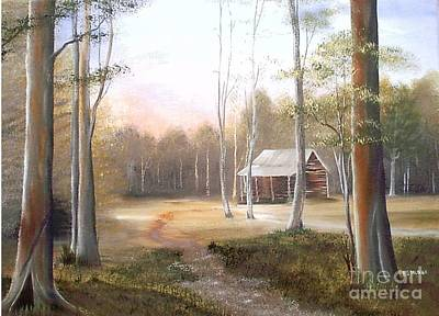 Painting - Warm Glow by RJ McNall