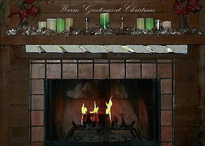 Photograph - Warm Greetings At Christmas by Ellen Barron O'Reilly