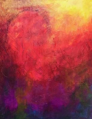 Painting - Warm Heart  by Isaac Alcantar