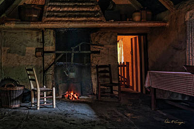 Photograph - Warm Hearth by Dan McGeorge