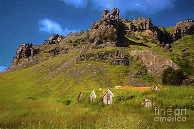 Photograph - Warm Hills by Rick Bragan