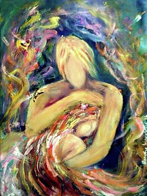 Painting - Warm Hug by Wanvisa Klawklean
