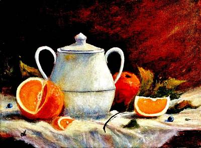 Painting - Warm Light by Cristina Mihailescu