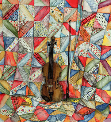 Warm Melodies Art Print by Robin Martin Parrish
