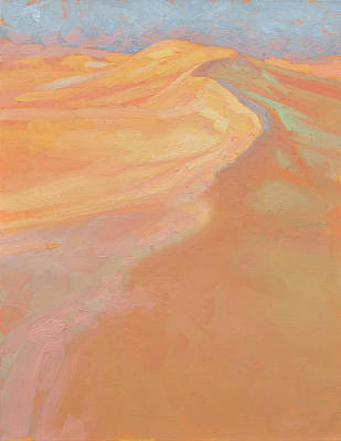 Sand Dunes Painting - Warm Morning by Ben Hubbard