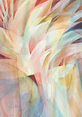 Painting - Warm Rays by Carolyn Utigard Thomas