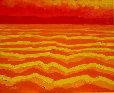 Warm Seascape Art Print