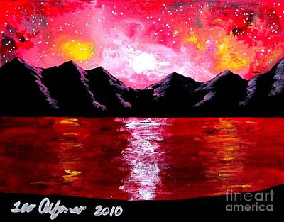 Painting - Warm Skies by Teo Alfonso