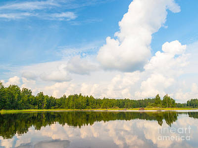 Photograph - Warm Summer Day At The Lake by Ismo Raisanen