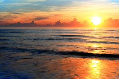 Photograph - Warm Summer Morning Along The Florida Beaches by Carol Montoya