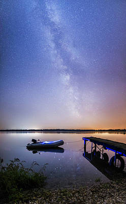 Photograph - Warm Summer Night by Davorin Mance