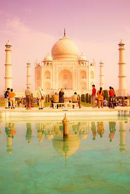 Photograph - Warm Taj by Nila Newsom