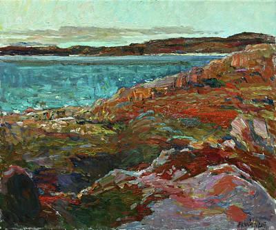 Painting - Warm Tundra by Juliya Zhukova