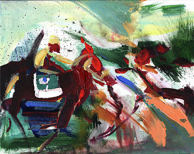 Painting - Warm Up by John Jr Gholson