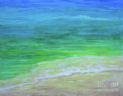 Painting - Warm Waters by Carolyn Jarvis