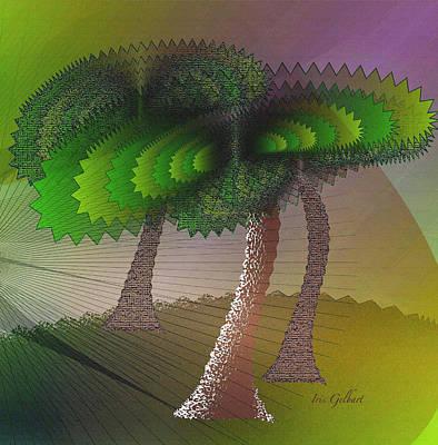 Digital Art - Warm Wind 2 by Iris Gelbart