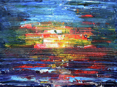 Painting - Warming Glow by Pete Caswell