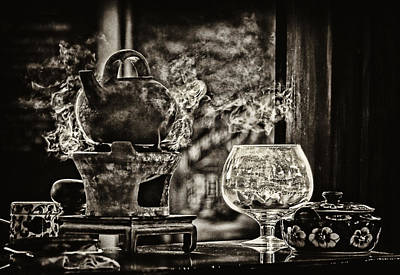 Photograph - Warming Up The Teapot by Cameron Wood
