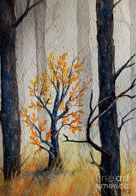 Painting - Warmth In Winter by Rebecca Davis