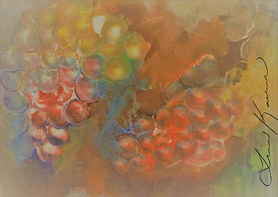 Abstract Painting - Warmth by Lisa Kaiser