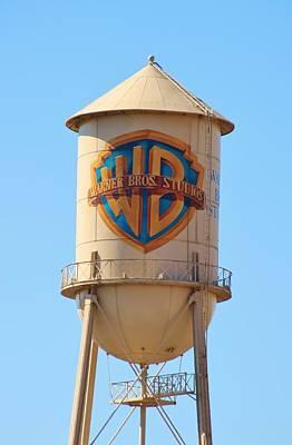 Photograph - Warner Water Tower by Karen Silvestri
