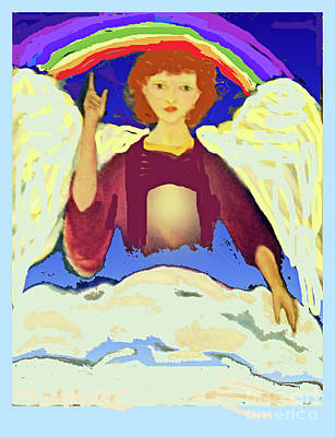 Photograph - Warning Angel II by Shirley Moravec