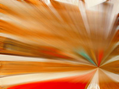 Digital Art - Warp Time by Jen Sparks